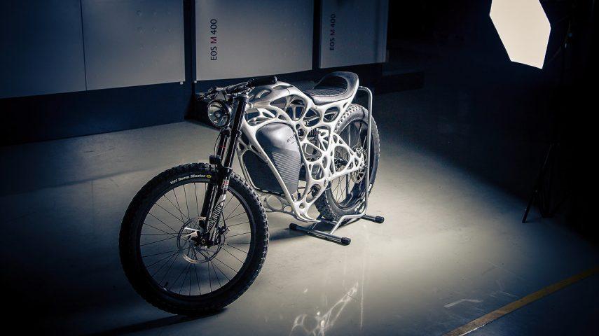 Moto del día: APWorks Light Rider