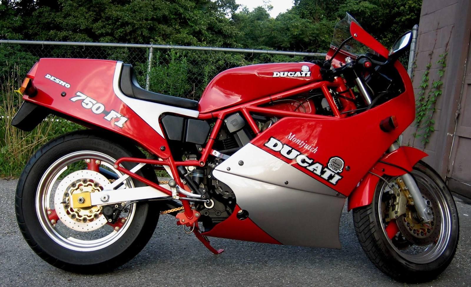 Moto del día: Ducati 750 F1