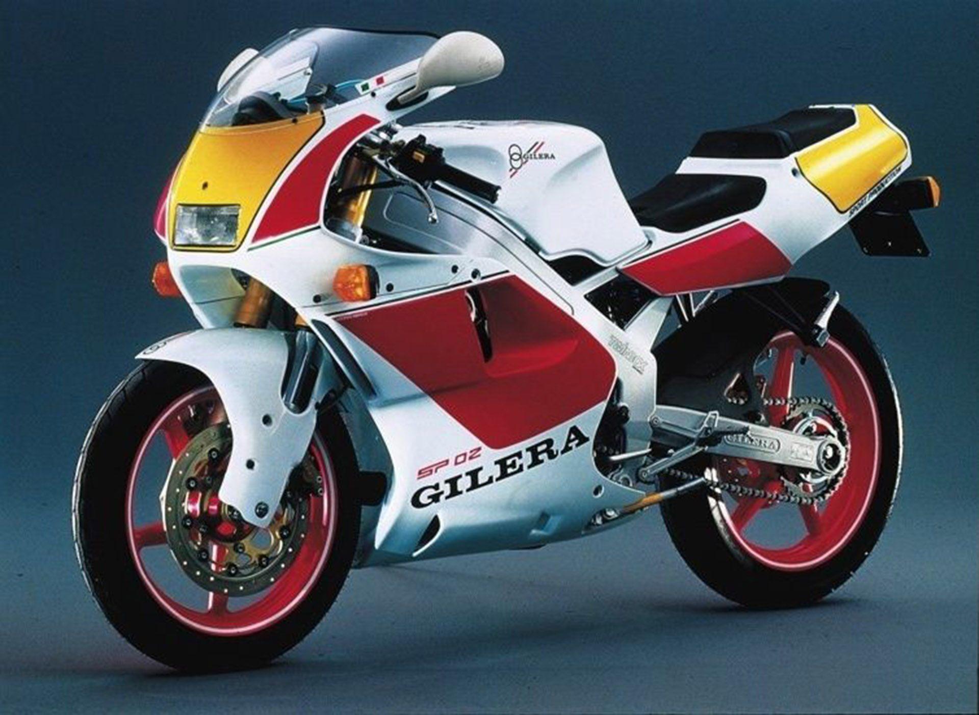 Moto del día: Gilera SP02