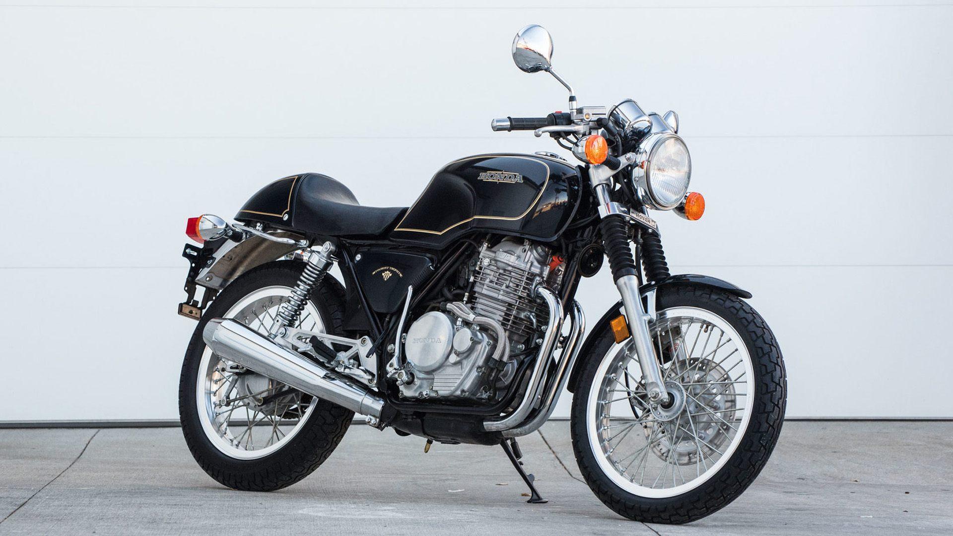 Moto del día: Honda GB500TT