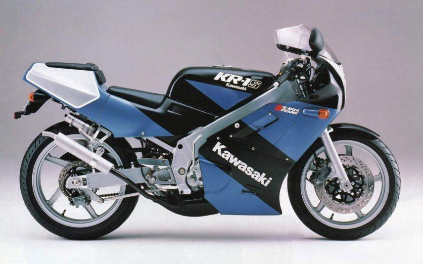 Moto del día: Kawasaki KR-1S