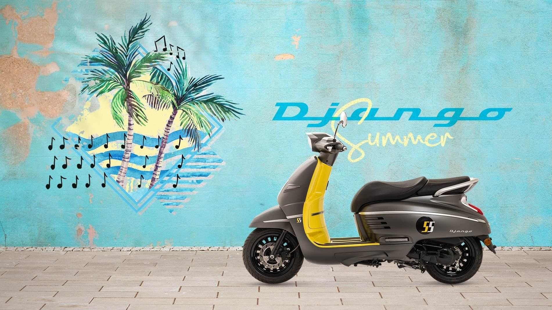 Peugeot lanza la edición especial Django Summer