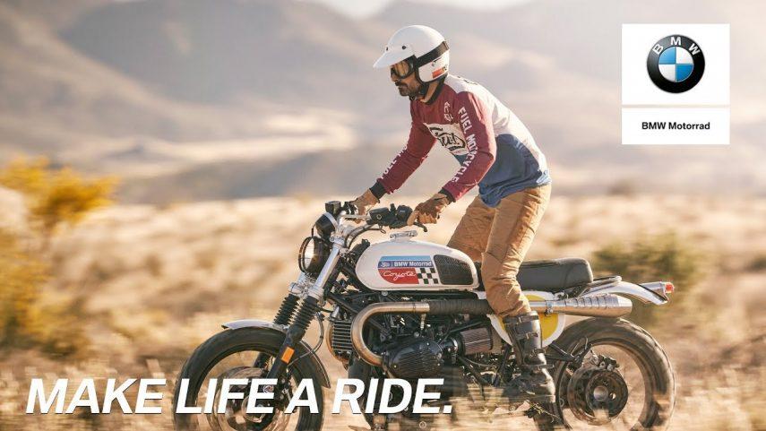 Fuel Coyote, una scrambler con corazón BMW