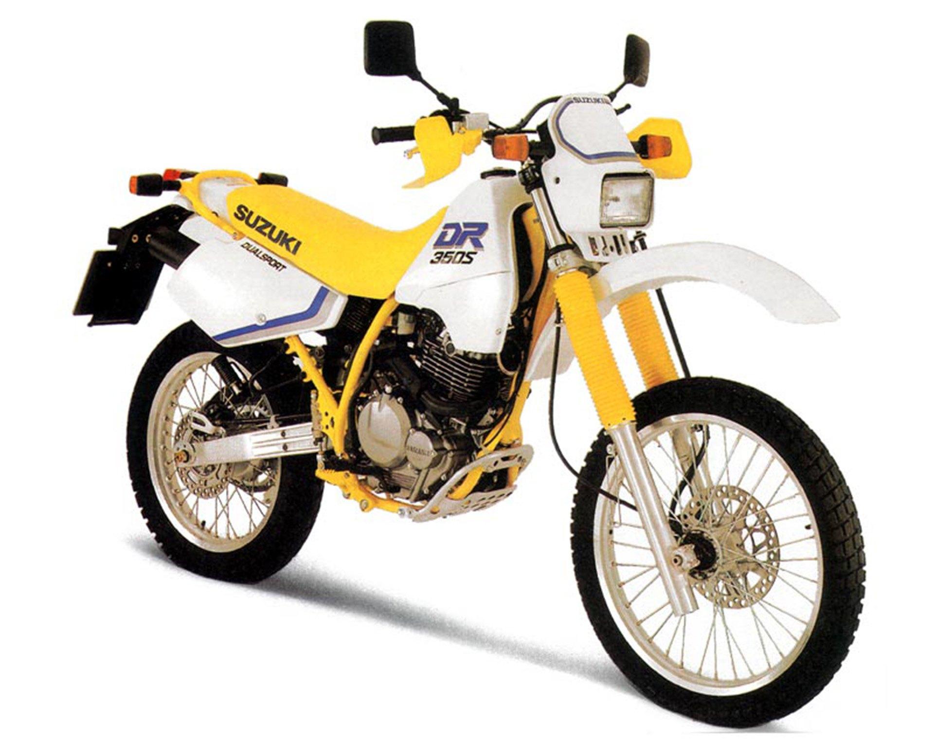 Moto del día: Suzuki DR 350 S