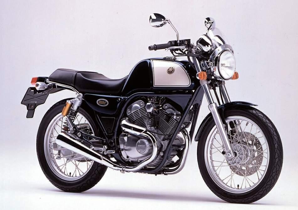 Moto del día: Yamaha SRV 250