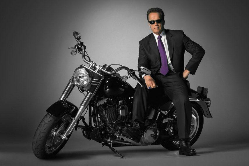 Subastada una pieza de la historia del cine: Harley Davidson Fat Boy de 1991