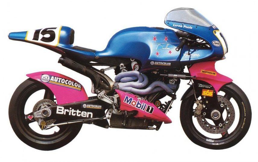 Moto del día: Britten V1000