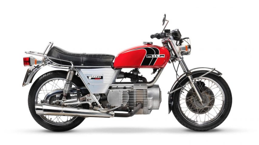 Moto del día: DKW W2000