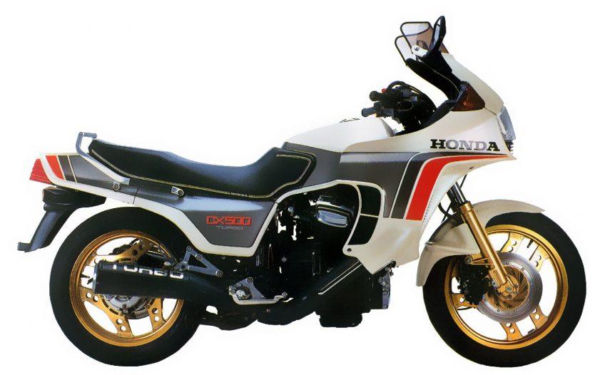 Moto del día: Honda CX500 Turbo
