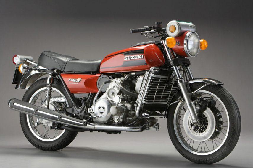 Moto del día: Suzuki RE5