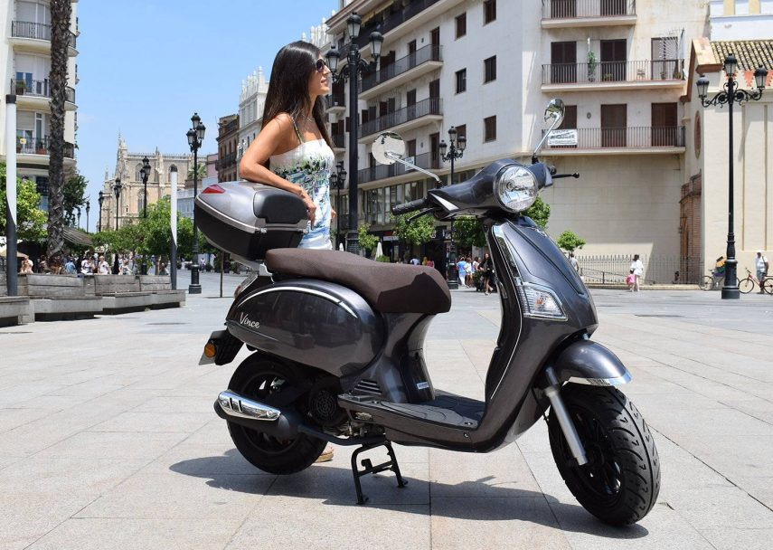 MH presenta su nuevo scooter: el Vince 125