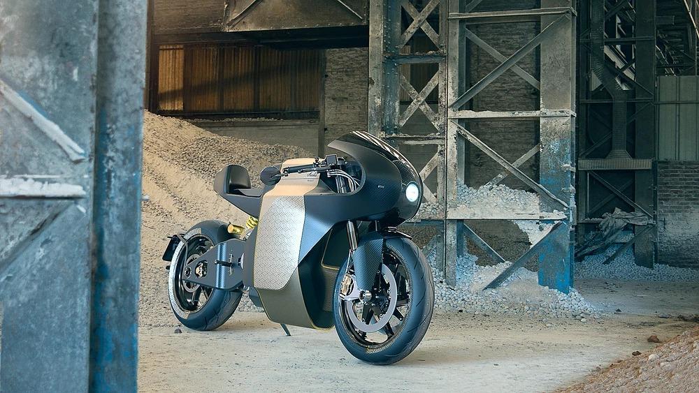 Saroléa MANX7, una suberbike de 163 CV eléctricos
