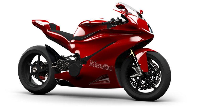 MondialMoto está desarrollando sendas superbike con motores V5