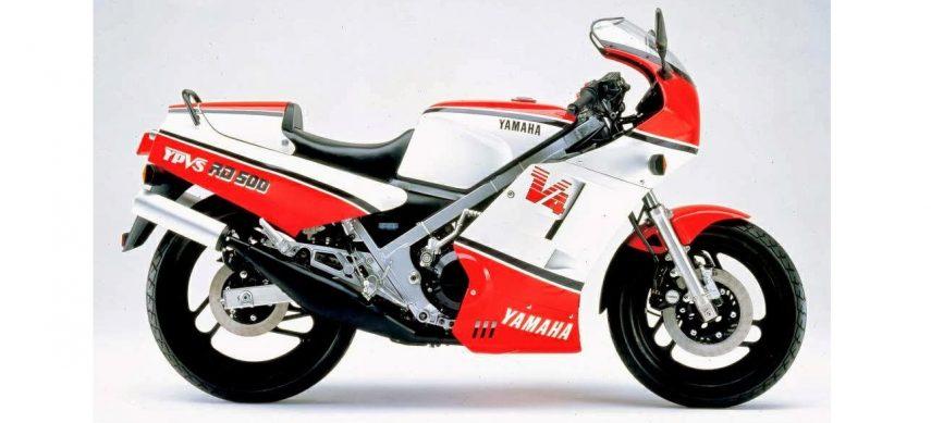 Moto del día: Yamaha RD 500
