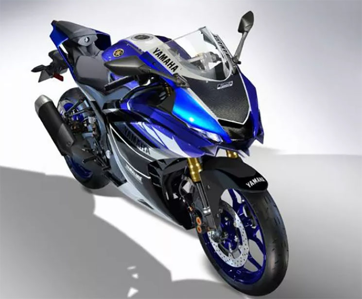 Yamaha YZF R3 2019 Render 1