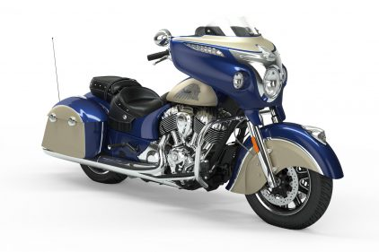 2019 Indian Chieftain Classic Deep Water Metallic