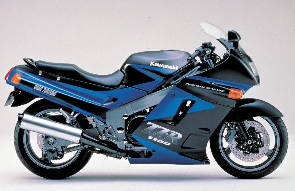 Kawasaki ZZ R1100 3