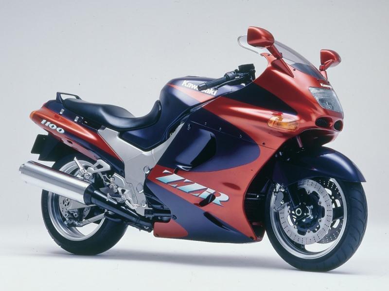 Kawasaki ZZ R1100 5