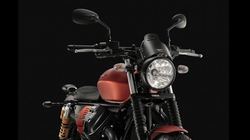 Moto Guzzi presenta la V9 Bobber Sport