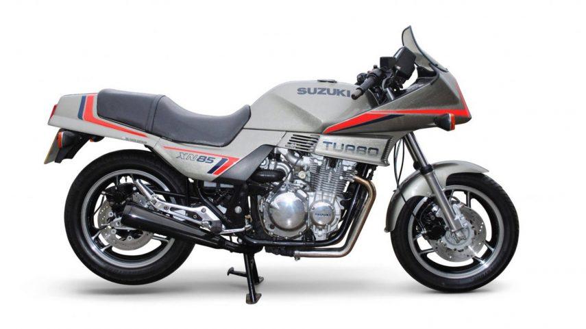 Moto del día: Suzuki XN85