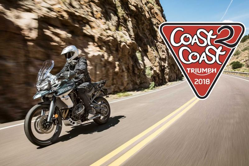 Triumph abre las inscripciones para el Coast 2 Coast