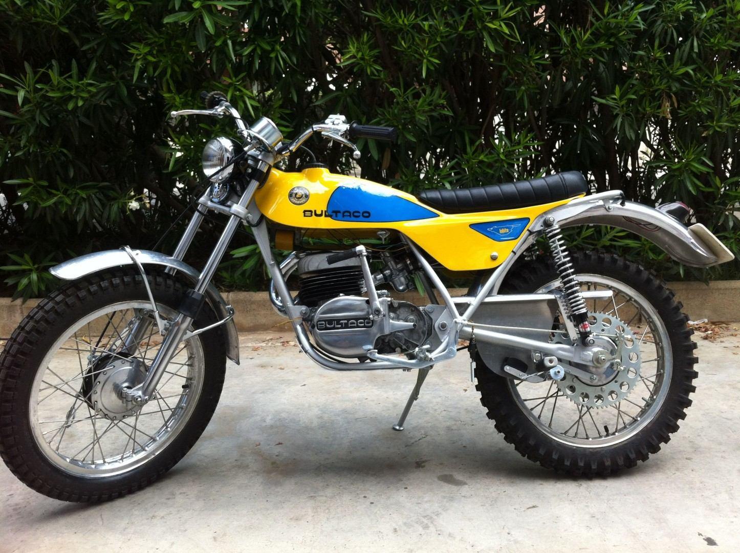 Moto del día: Bultaco Lobito 125