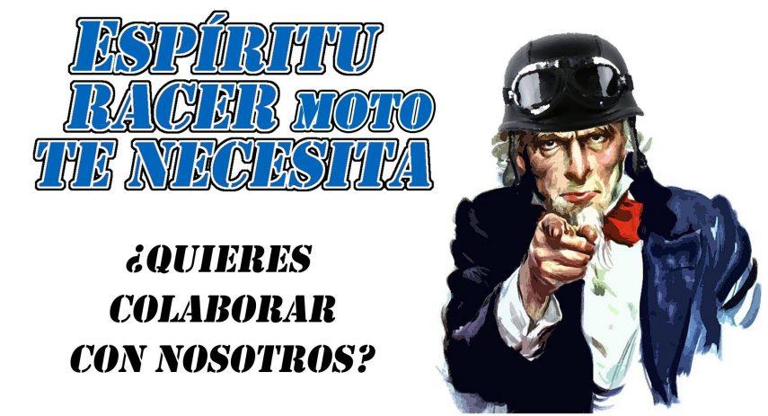 Espiritu Racer Moto Te Necesita