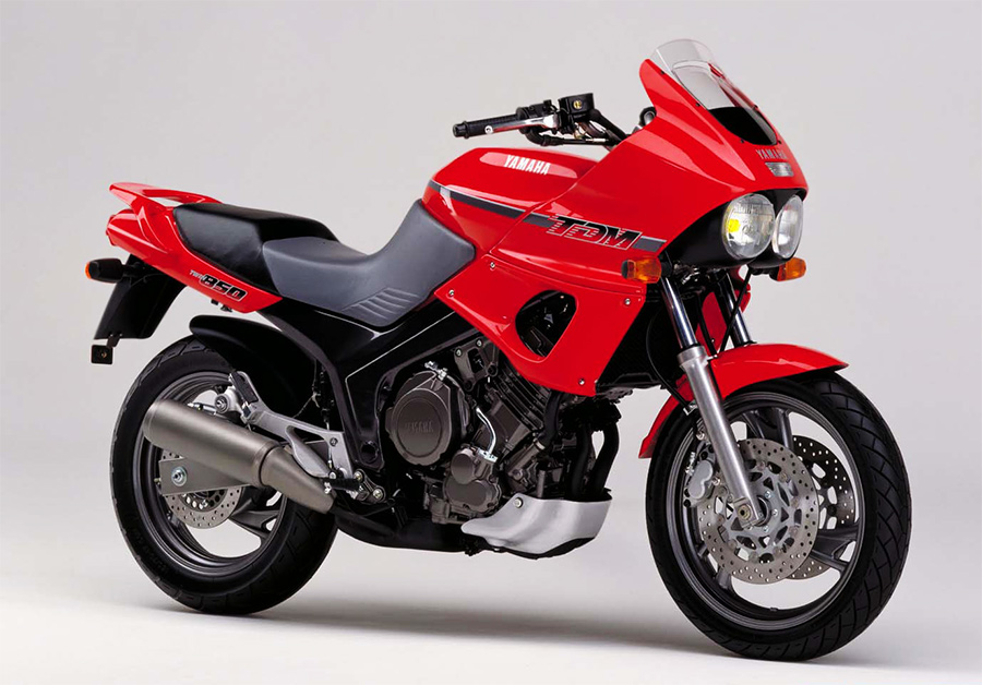 Moto del día: Yamaha TDM 850