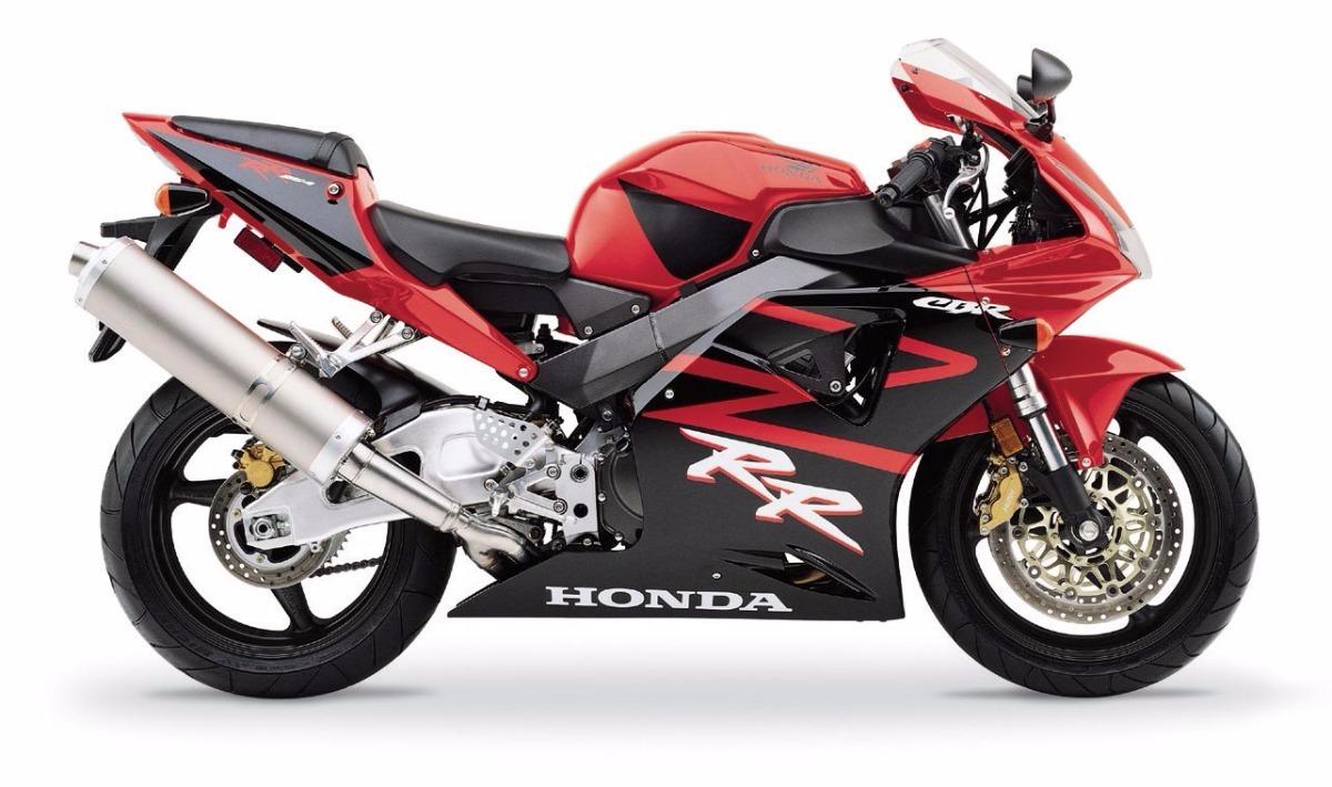 Moto del día: Honda CBR 954 RR Fireblade (2002)