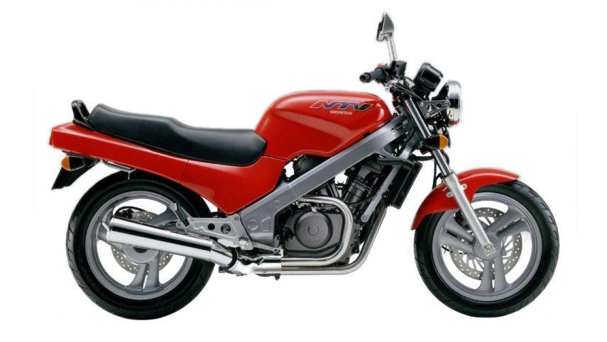 Moto del día: Honda NTV 650 Revere
