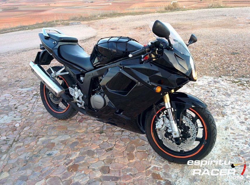 Moto del día: Hyosung GTR 250