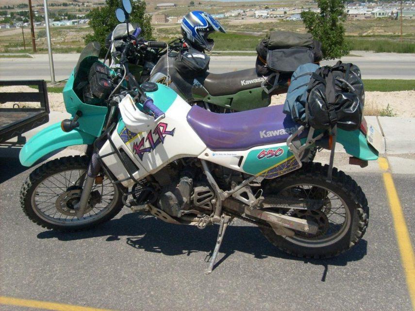 Moto del día: Kawasaki KLR 650