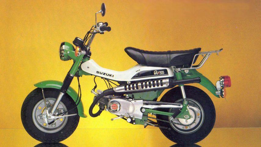 Moto del día: Suzuki VanVan 50