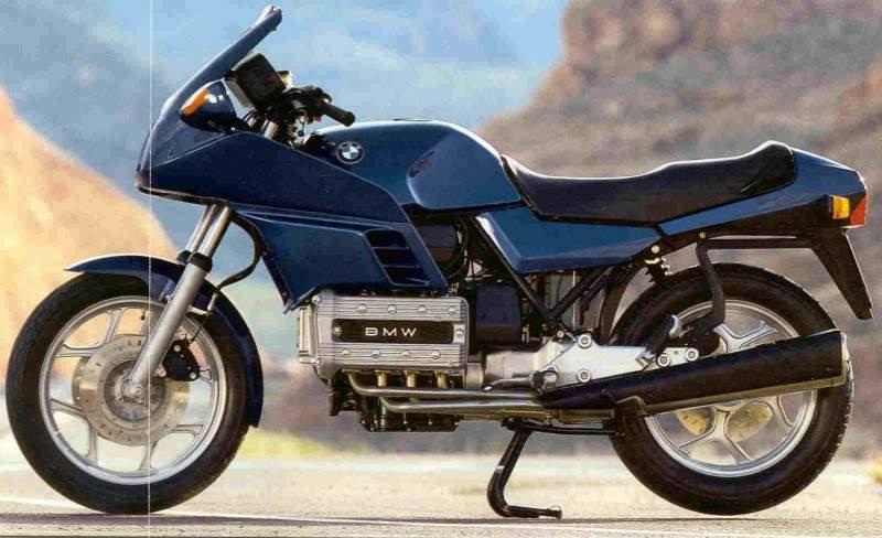 Moto del día: BMW K 100