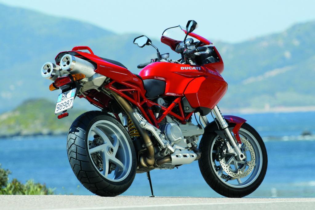Moto del día: Ducati Multistrada 1000 DS