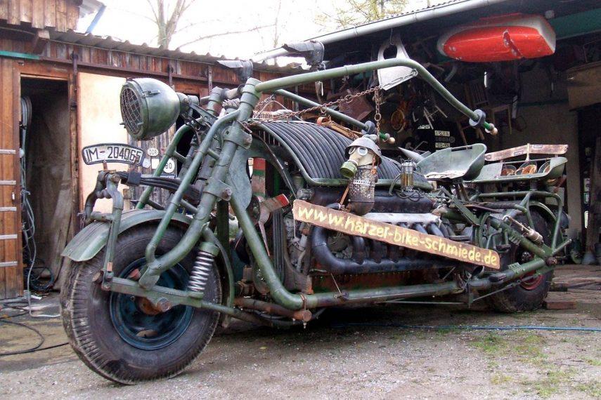Moto del día: Panzerbike