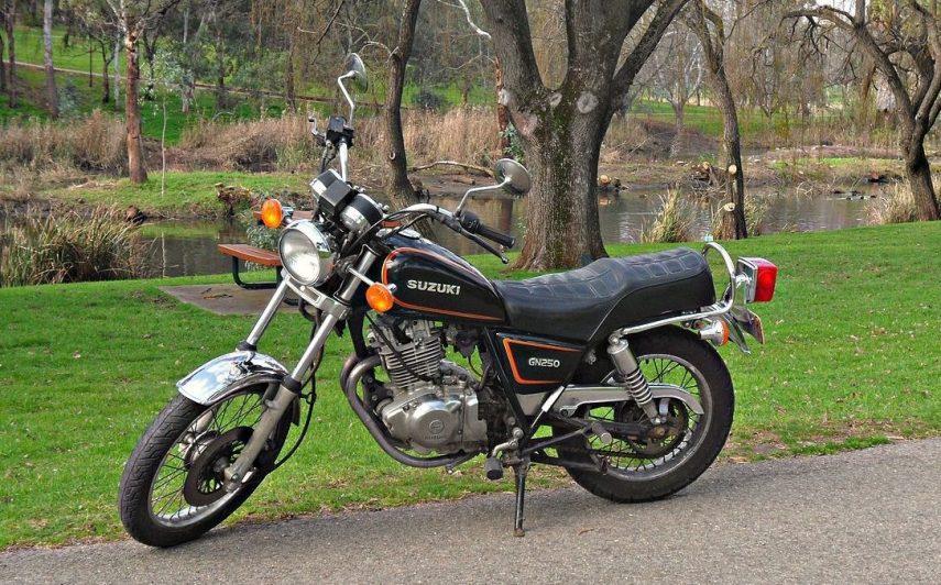 Moto del día: Suzuki GN 250