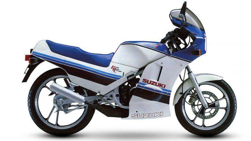 Moto del día: Suzuki RG 125 Gamma