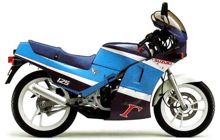 Suzuki RG 125 Gamma 1987