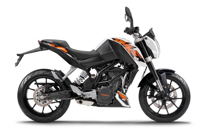 Moto del día: KTM Duke 125