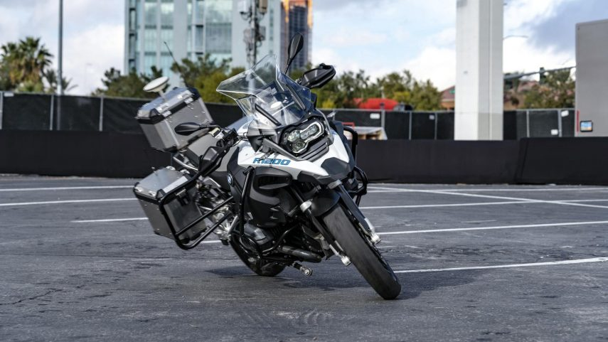 BMW mostró en el CES su Riding Assistant en la R 1200 GS