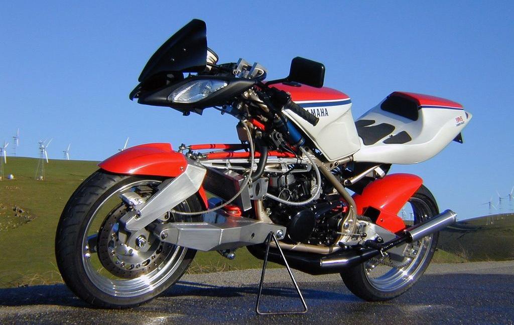 Moto del día: Yamaha FFE 350