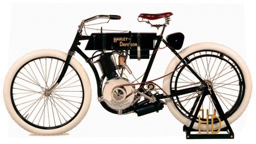 Moto del día: Harley-Davidson Model 1