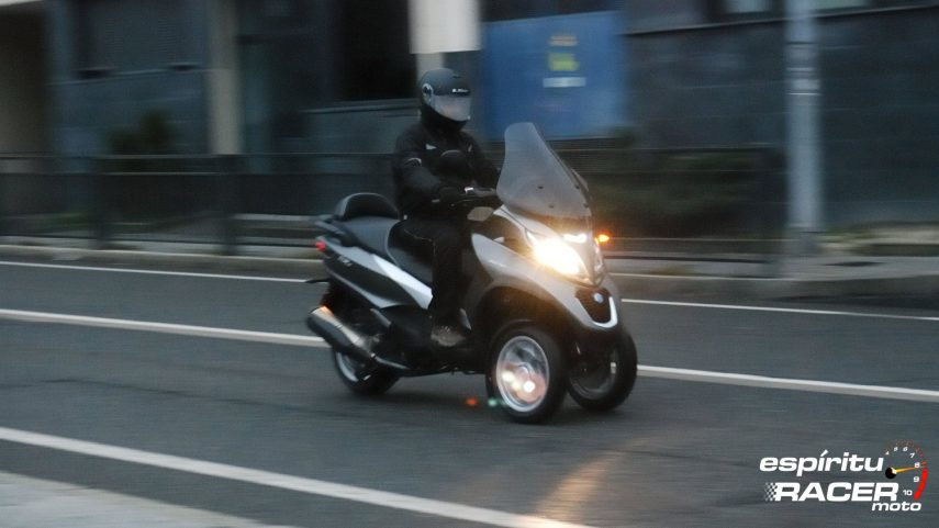Prueba: Piaggio MP3 500 LT hpe Business