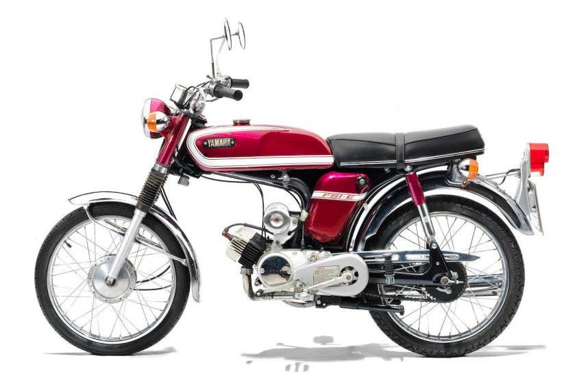 Moto del día: Yamaha FS1-E