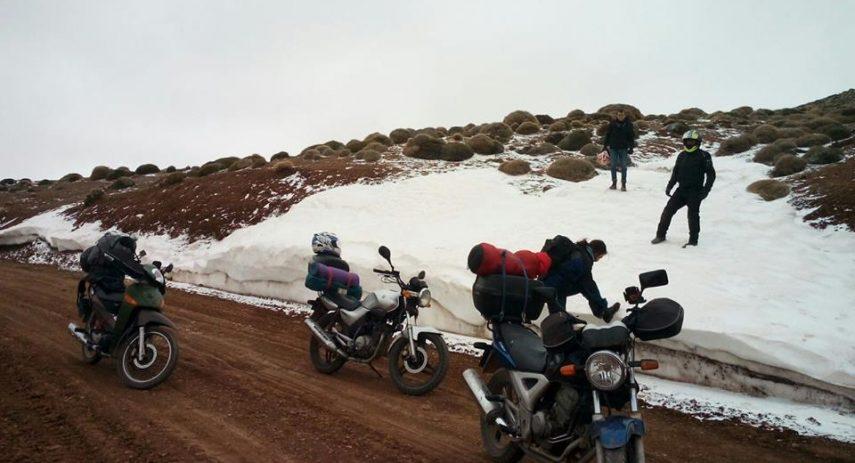 Moto Nieve Puerto