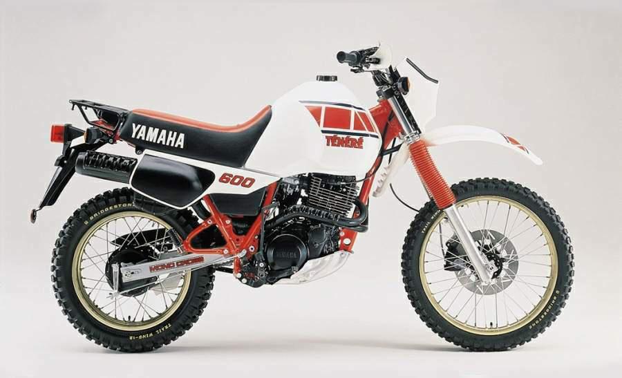 Moto del día: Yamaha XT 600 Ténéré