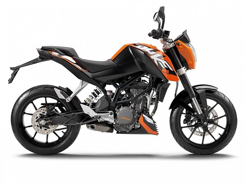 Moto del día: KTM Duke 200