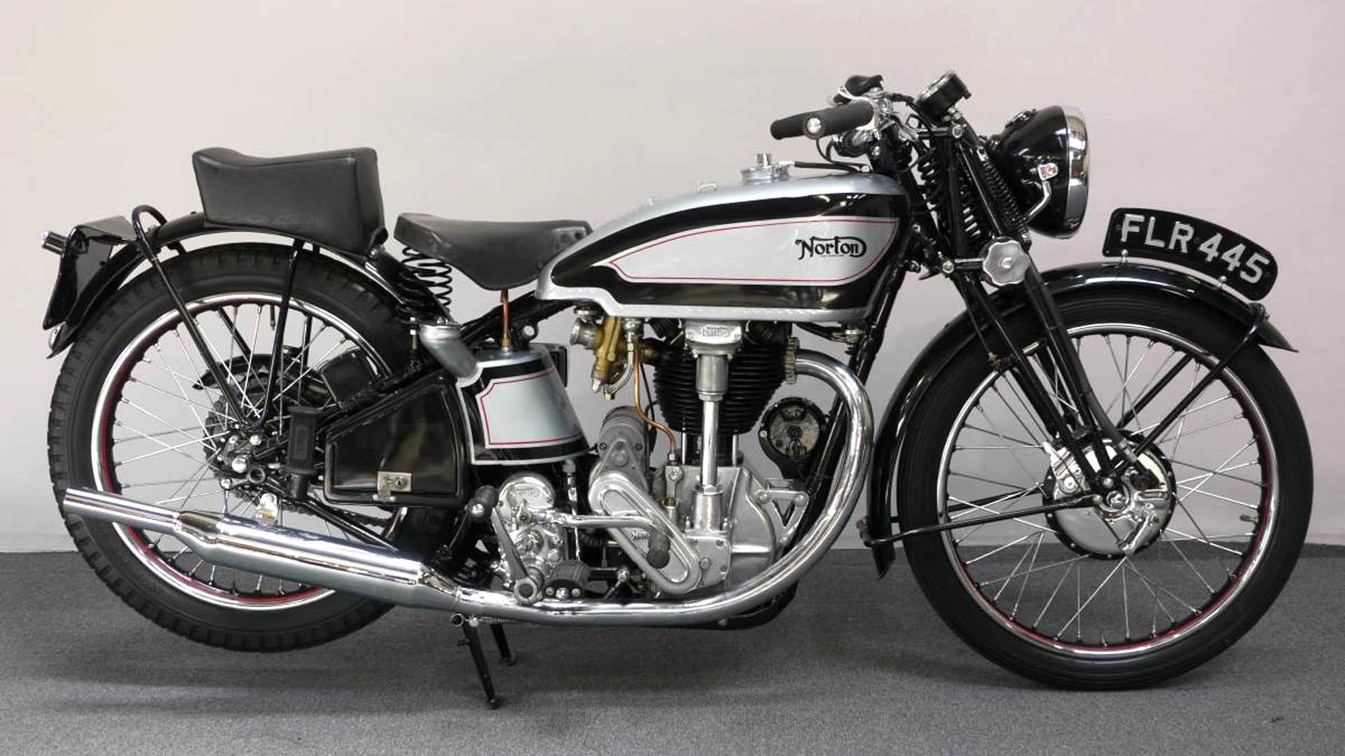 Moto del día: Norton International