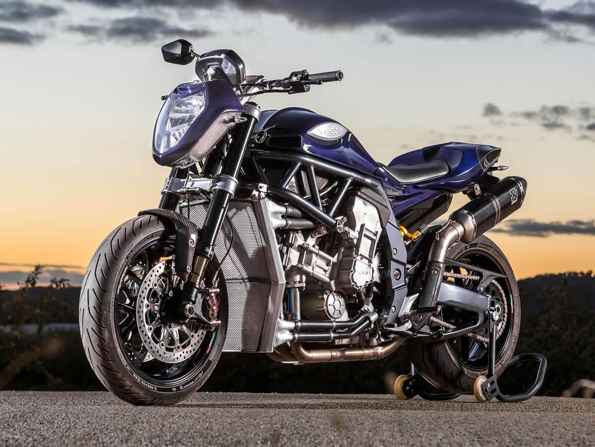 Moto del día: Auranthetic Charger | espíritu RACER moto